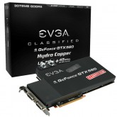 EVGA GeForce GTX 580 Classified Ultra Hydro Copper 3072MB