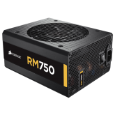 RM Series™ RM750 — 750 Watt 80 PLUS® Gold Certified Fully Modular PSU